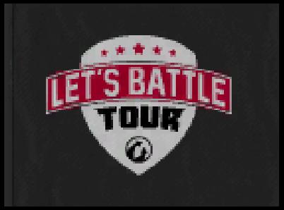 Lets Battle Tour Flag