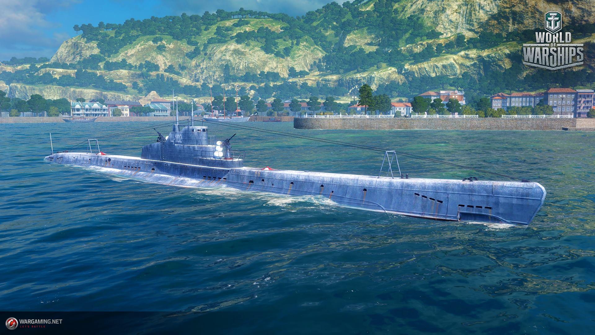 будут ли подводные лодки в warships
