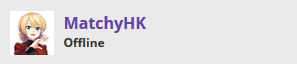 matchyhk's Streambadge