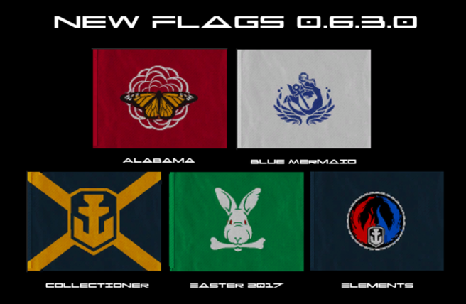 Flags New 0.6.3.0