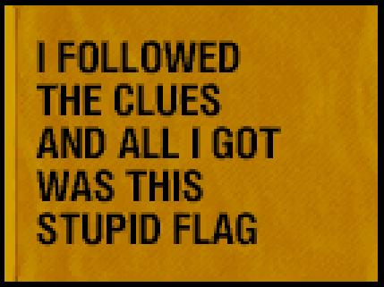Scavenger Flag