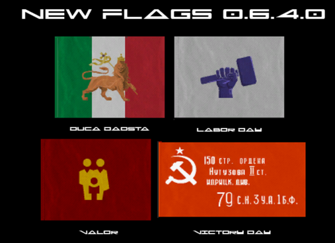 Flags New 0.6.4.0