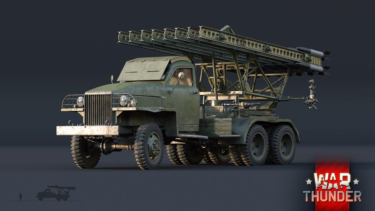 War Thunder – Katyusha event – The Armored Patrol