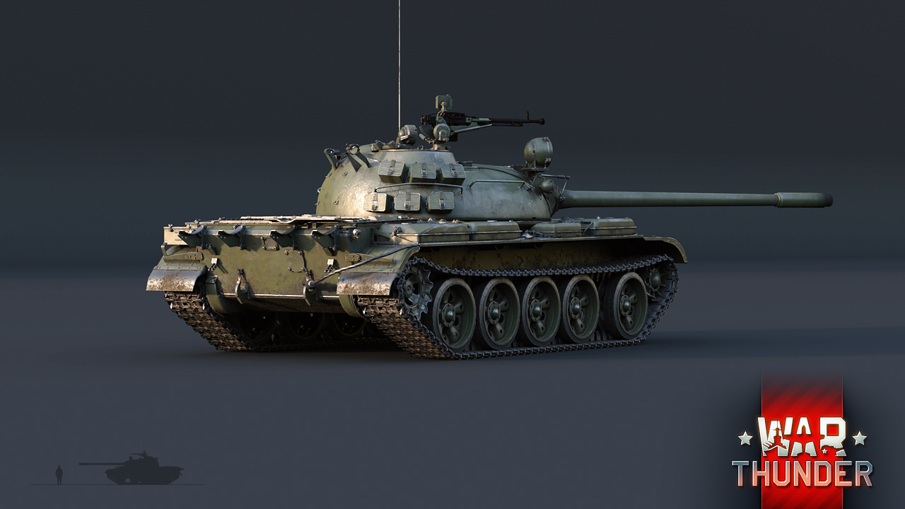 War Thunder – T-55A – The Armored Patrol