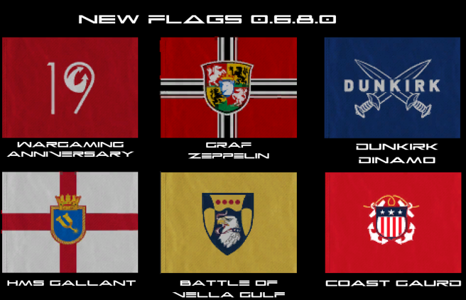 Flags New 0.6.8.0