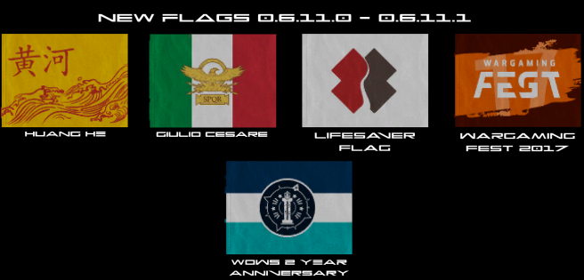 Flags New 0.6.11.0