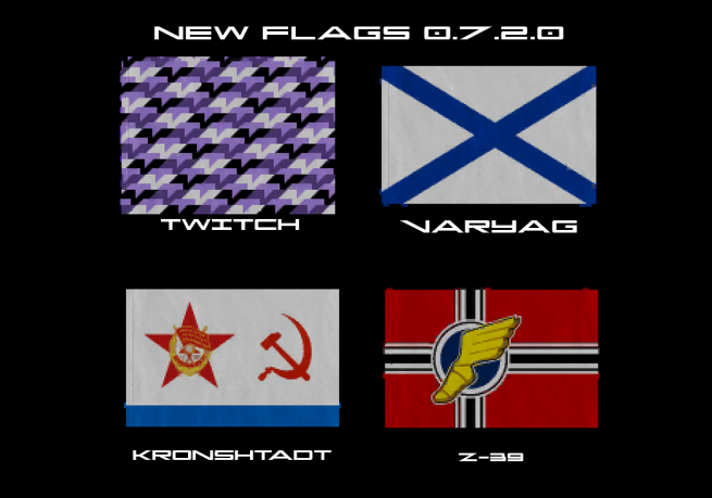 Flags New 0.7.2.0