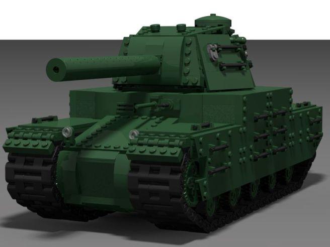 Type 5 – Lego tank model – The Armored Patrol