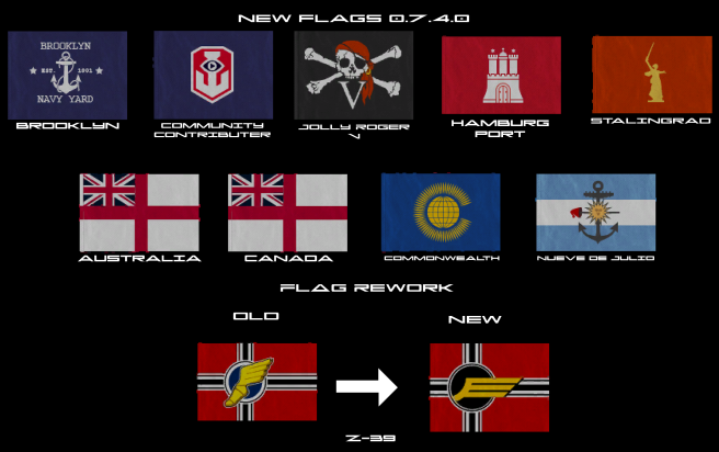 Flags New 0.7.4.0