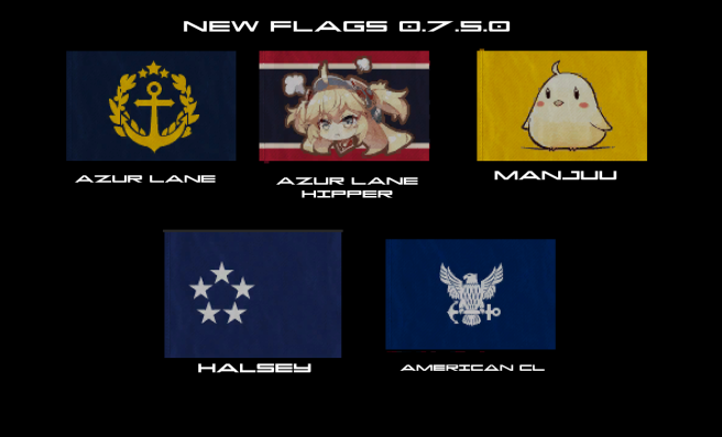 Flags New 0.7.5.0