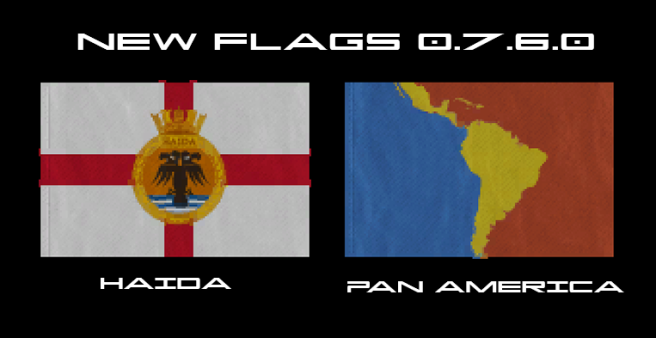 Flags New 0.7.6.0