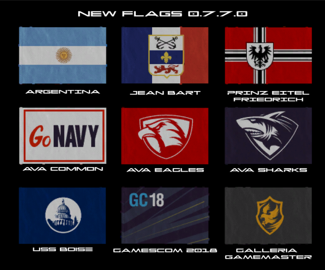 Flags New 0.7.7.0