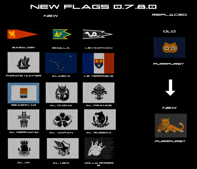 Flags New 0.7.8.0