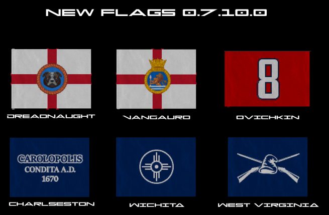 Flags New 0.7.10.0