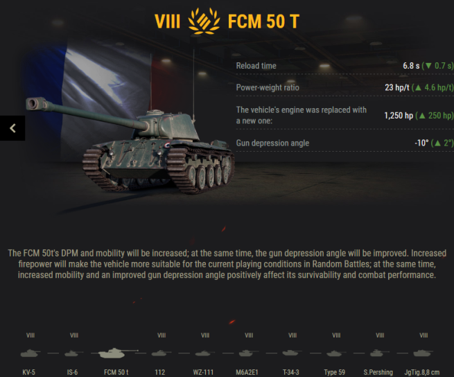 World of Tanks Preferential Matchmaking in Update