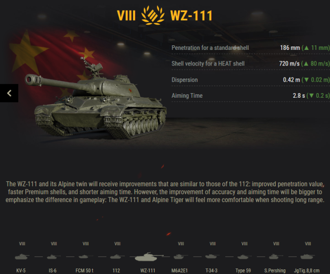 Wot preferential matchmaking tanks