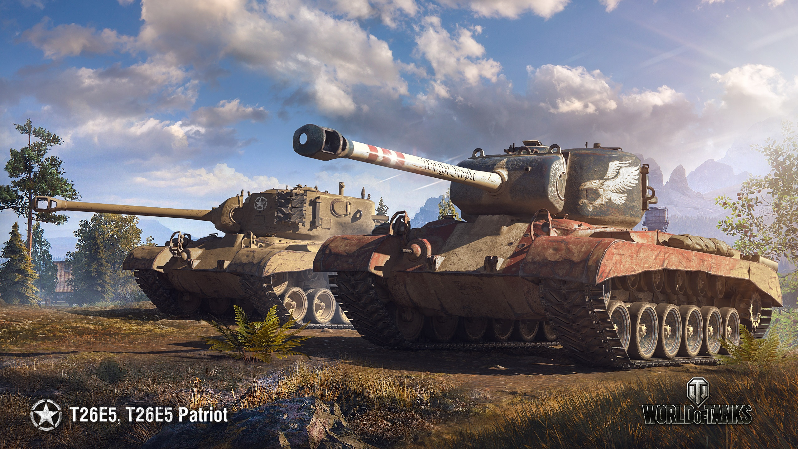 World Of Tanks Wallpaper T26e5 Patriot The Armored Patrol