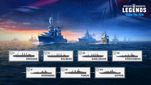 World of Warships: Legends is Here! – The Armored Patrol